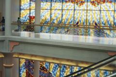 Dubai Crystal Maze construction, Wafi Shopping Mall, Dubai