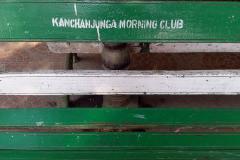 Bench in Darjeeling