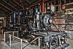 Engine Shed - Shanty Town, New Zealand